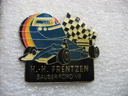 Pin's Formule1, Sauber Ford V8 Conduite Par Le Pilote De La Team Sauber Heinz-Harald Frentzen - F1