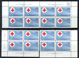 Canada MNH PB 1952 Red Cross Symbol - Unused Stamps