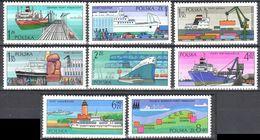 Poland 1976 - Polish Ports - Mi.2475-82 - MNH(**) - Postfrisch - Nuevos
