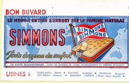 Buvard Matelas Simmons - M