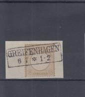 Deutsches Reich Michel Kat.Nr. Gest 28 Stempel Falsch - Usati
