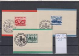 Deutsches Reich Michel Kat.Nr.  686/688 FDC Drei Karten - Covers & Documents