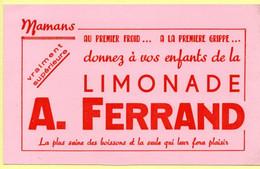 Buvard Limonade Ferrand. - Sprudel & Limonade