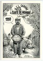 Truffes - Authentique Chercheur Quercynois  Par  Bernard VEYRI - Voir Scan - Veyri, Bernard