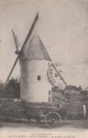 CPA (17) ILE D' OLERON - SAINT PIERRE N° 338 Le Moulin De Bel-Air Moulin à Vent Windmill Windmühle Windmolen 2 Scans - Ile D'Oléron