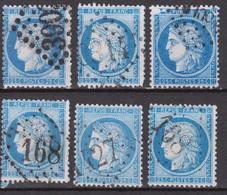 France Oblitérés Gros Chiffres - 1871-1875 Ceres