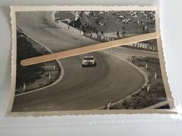 5 PHOTOS ORIGINALE COURSE AUTOMOBILE AUTO RACE SPA FRANCORCHAMPS 1960/1970 RAIDILLON DE L'EAU ROUGE - Cars