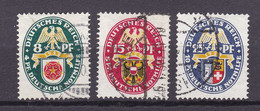 Germany - Reich 1933/1945 - 1929 Year _ Michel 431/433 - Used - 70 Euro - Used Stamps