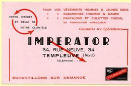 Buvard Vêtements Imperator à Templeuve (Nord). - A