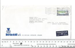 Iceland Reykjavik To Miami Florida Feb 26 1980......................(Box 8) - Lettres & Documents