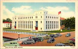 Nevada Reno Post Office Curteich - Reno