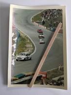 PHOTO ORIGINALE  AUSTIN MINI COOPER ,ABARTH......ANNÉE 1966 AUTO RACE SPA  FRANCORCHAMPS (10 X 7,5 Cm) - Cars