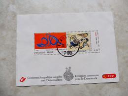 Belgique  Bloc 135 Emission Commune Danemark  Oblitéré  / Belgie Blok 135 Gestempelt Mooie ( 2006 ) - Used Stamps