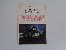 Lottery Loterie Lotaria Lotto Pocket Calendar 1988 - Small : 1981-90
