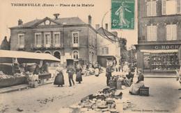 Thiberville - Place De La Mairie - Autres Communes