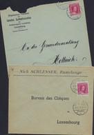 Luxembourg - Luxemburg -  Lettre  1916   Nic Schlesser , Rumelange - Allgemeiner Verbandd - 1921-27 Charlotte Voorzijde