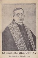 Sa Saintete Benoit XV, Elu Pape Le 3 Septembre 1914 (pk82515) - Personnages Historiques