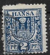 Privatpost Posen, Guter Gestempelter  Wert Der Ausgabe Der Hansa-Anstalt Von 1897 - Private