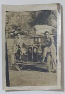 09656 Foto D'epoca 217 - FIAT 508 Balilla - Monte Pellegrino (Palermo) 1943 - Automobili