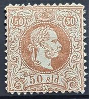 AUSTRIAN LEVANTE 1867 - MLH - ANK 7A - 50sld - Eastern Austria