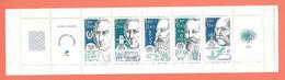 FRANCE   1986       PERSONNAGES CELEBRES   Carnet De 5 Timbres Frais     MNH - Bekende Personen