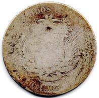 VENEZUELA KM Y # 23. GRAMO 10. TWO Bolívares. Weight: 10.0000 G., 0.8350 Silver. Diameter: 27mm. With Wear. - Venezuela
