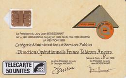 C-20 Jean Boissonnat - Phonecards: Internal Use