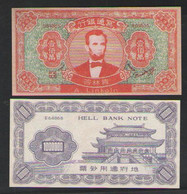 CHINA    HELL BANKNOTE 1000000  A. LINKOLN - Cina