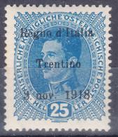 Italy Trento, Trentino, Venezia Tridentina 1918 Mi#8 Mint Hinged - Trente