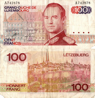 Luxembourg / 100 Francs / 1980 / P-57(a) / VF - Luxembourg