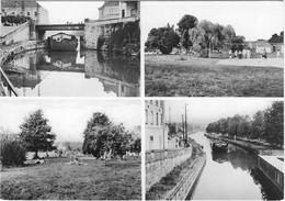 70 CPA PORT SUR SAONE LA PLAGE LE CANAL PENICHES - Other Municipalities