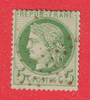 N°53 PARIS ETOILE ROUGE SIGNE JAMET - 1871-1875 Ceres