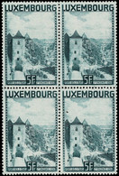 Luxembourg, Luxemburg 1934 Porte Des 3 Tours, Bloc 4x 5Fr. Neuf MNH** Val.cat.44€ - Unused Stamps