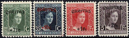 Luxembourg, Luxemburg 1924 CARITAS Adélaïde Série Surcharge Neuf MNH** Val.cat.10€ - Unused Stamps