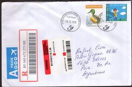Belgique - 2020 - Lettre - Air Mail - Envoyé En Argentina - A1RR2 - Storia Postale