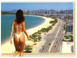 (ZZ 1) Brazil - Praia De Camburi - Sexy Woman Near Beach - Pin-Ups