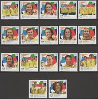 AUSTRALIA - USED 2021 Tokyo Olympic Games Gold Medal Winners: Full Set Of 17 - Gebruikt