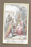 IMAGE PIEUSE.. édit. Bouasse Lebel M 126.. O DIVIN ENFANT Animé De La Foi Généreuse Des ROIS MAGES.. - Images Religieuses