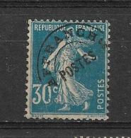 PREOBLITERE SANS GOMME  N° 60 - 1893-1947