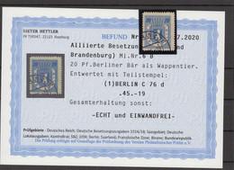SBZ 1945 Nr 6B Gestempelt (500235) - Sovjetzone