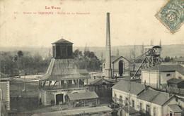 Le Tarn MINES DE CARMAUX  Puits De La Grillatié Labouche Pionnière RV - Carmaux