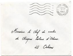 CHARENTE Mme - Dépt N° 17 = St AIGULIN 1968 = FLAMME Codée = SECAP Muette ' 5 Lignes Ondulées' FRANCHISE - Oblitérations Mécaniques (flammes)