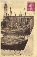GUILVINEC (Finistère) Un Coin Du Port Bateaux Phare RV - Guilvinec