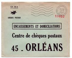 CHARENTE Mme - Dépt N° 17 = St DENIS De SAINTONGE 1968 = FLAMME Codée = SECAP Muette ' 5 Lignes Ondulées' FRANCHISE - Oblitérations Mécaniques (flammes)