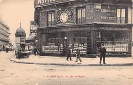 PARIS 1er -- L. SIMON & Cie Rue De Rivoli A L'Horloge Du Pont-Neuf Joaillerie Bijouterie * Colonne Morris - Zonder Classificatie