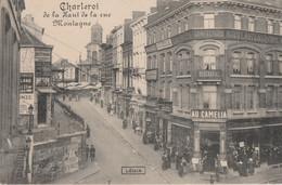83.CHARLEROI. DE LA HAUT DE LA RUE DE LA MONTAGNE - Charleroi
