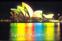 Australia Postcard Sydney Opera House - Mint (DD27-41) - Sydney