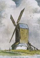 Carte Postale Dept 45 - Chapelon - Le Dernier Moulin à Vent Du Gâtinais (voir Scan Recto-verso) - Altri Comuni