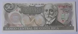 Costa Rica 50 Colones 1993 UNC P257 - Costa Rica