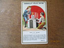CHOCOLAT FELIX POTIN NOIR ET BLANC TOM TIT. - Félix Potin